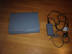 NEC Versa 550D Laptop and AC Adapter